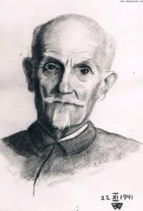 Stanisław Wojciechowski - rysunek córki Zofii z 1941 roku.