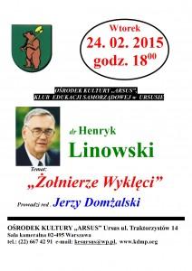 Plakat - Linowski2015